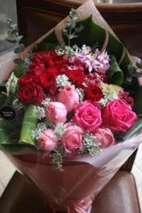 2月14日は、世界でいちばん花を贈る日なのです。