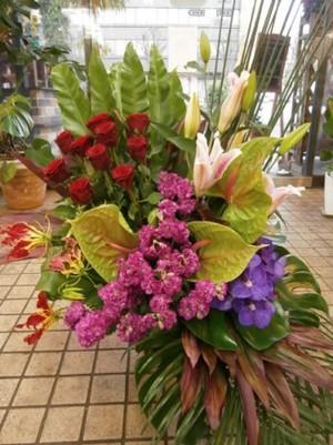 【生花フラワーアレンジメント】開店、開業、開院、周年祝い、お誕生のお祝いに…