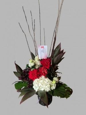 【生花フラワーアレンジメント】開店、開業、開院、周年祝い、お誕生日の御祝いに…