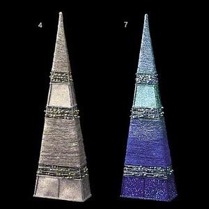 60cmグリッタービーズピラミッドコーン