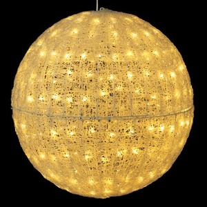 耐水80cm240球広角型LEDシャンペーングロー立体ボール