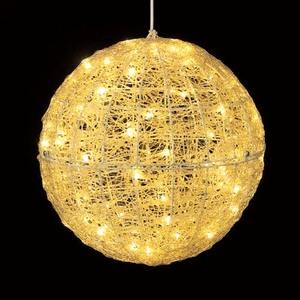 耐水45cm100球広角型LEDシャンペーングロー立体ボール