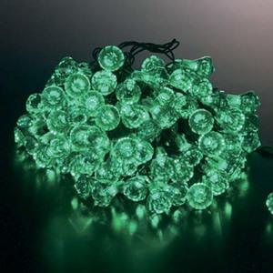 耐水100球LEDグリーンダイヤモンドライト