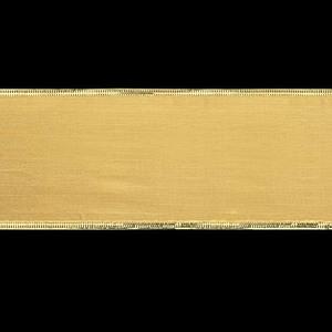 75mm幅ゴールドシャイニーゴールドエッジリボン