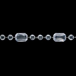 180cmクリスタルダイヤモンドガーランド