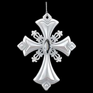 13cmパールホワイトクロス