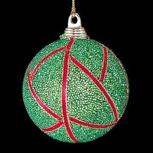 6cmビーズグリーンボール