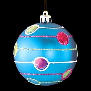 8cmミラーブルーボール